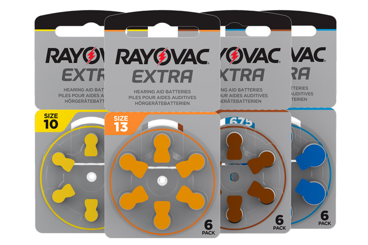 Rayovac extra advanced act gruppbild